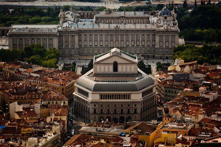 Teatro de la Ópera y Palacio Real, Madrid
