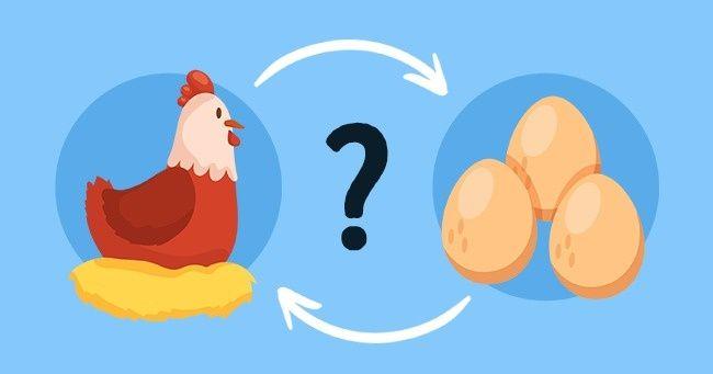 Qui fut lepremier : l'œuf oulapoule ? Voici laréponse !