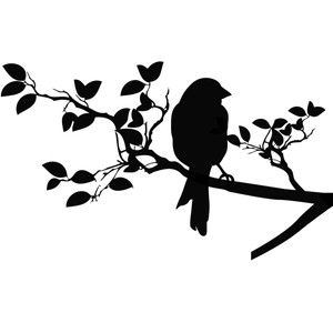 Epic image intended for bird silhouette printable