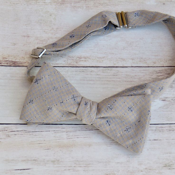 Neutral Bow Tie   Self Tie Bow Tie   Cotton Bow Tie   Adjustable Strap Bow Tie   Mens Bow Tie   Boy Kid Bow Tie   Vintage Bow Tie by SuperBowDesign on Etsy https://www.etsy.com/uk/listing/473783504/neutral-bow-tie-self-tie-bow-tie-cotton