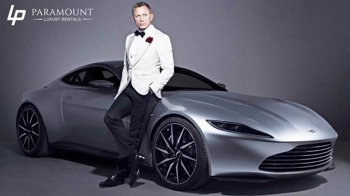 For his time as James Bond Daniel Craig has the privilege of taking any #AstonMartin from the factory for the rest of his life:  #Miami #ExoticCars #BestCars #ParamountLuxuryRentals