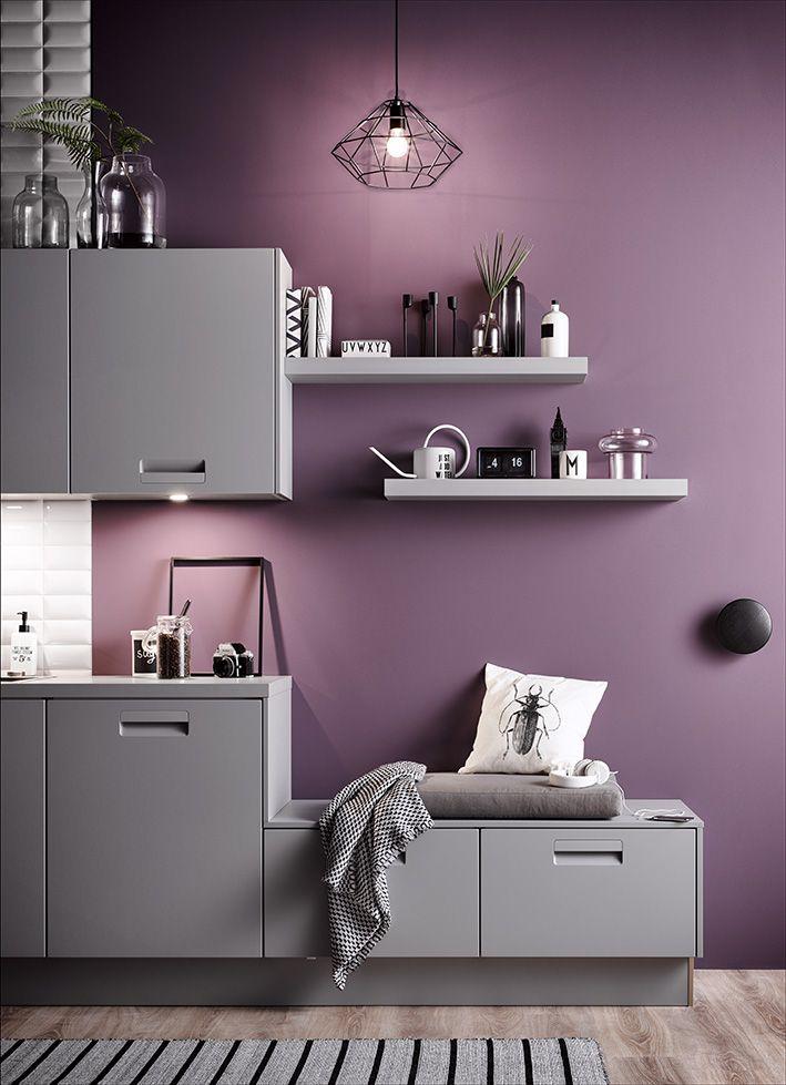 Ideal Front INTEGRALE im Farbton perlgrau Produktlinie classic kitchenideas h ckerk chen h cker k chen