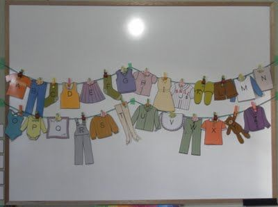 Alphabet Laundry Clothes Pinterest If Clothes Line