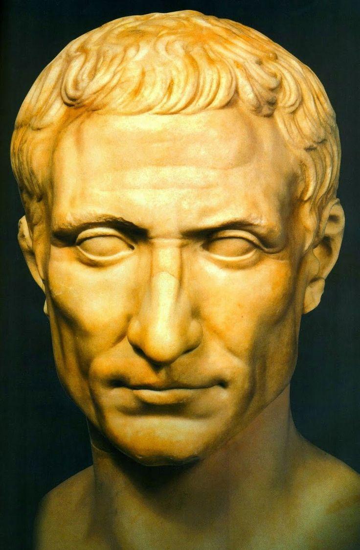 JULIO CÉSAR (100-44 a. C.) Cayo Julio César. Líder militar y político romano de la era tardorrepublicana..