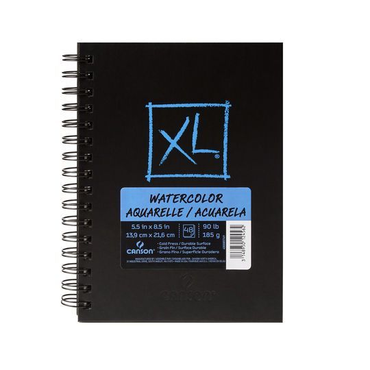 Canson XL Hardcover Watercolor Pad