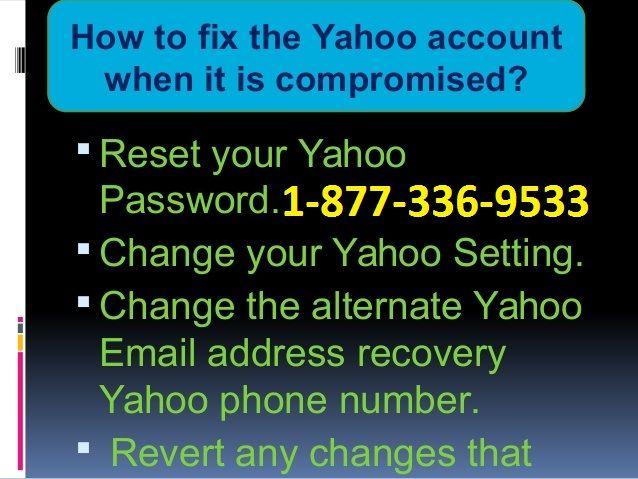 Dial U S A 1-877-336-9533 | 1-877-336-9533@Yahoo mail Help