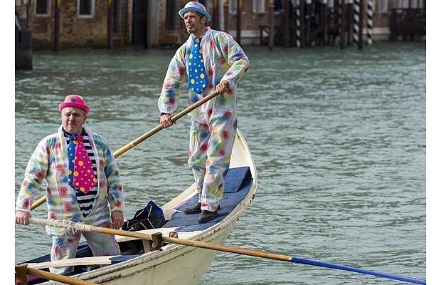 Photos: Colourful regatta opens Venice Carnival