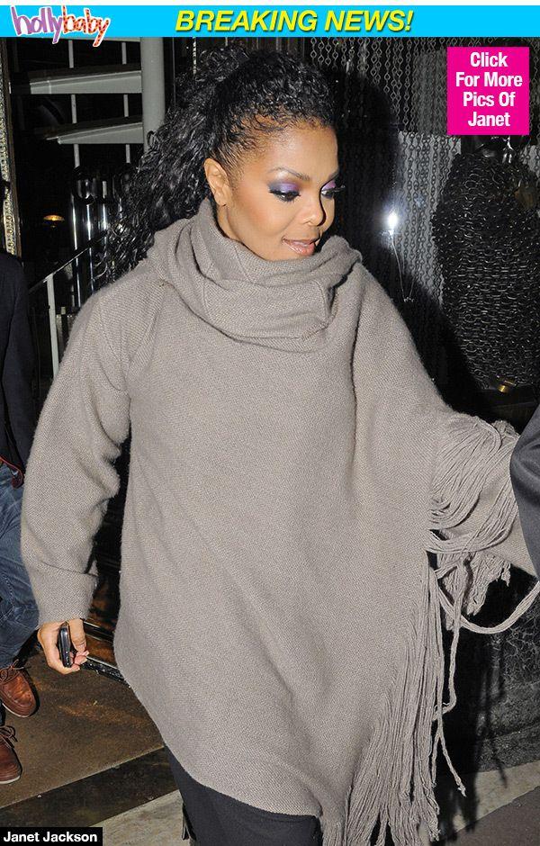 Janet Jackson Pregnant Pictures