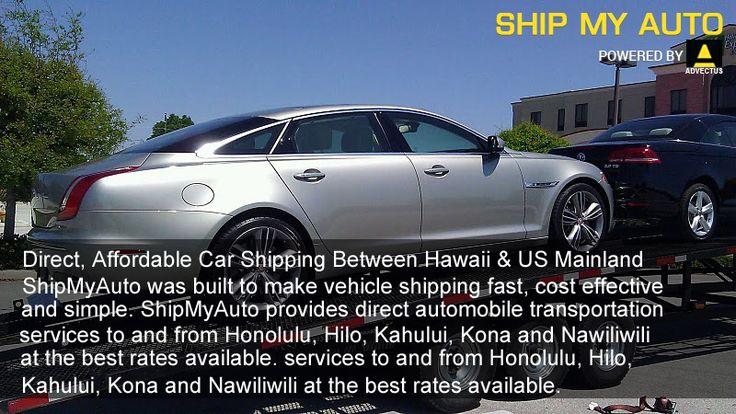 Direct, Affordable #Car #Shipping Between #Hawaii & US #Mainland  https://www.shipmyauto.com/ship-a-car-to-from-hawaii