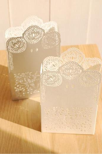 Lace Paper Boxes