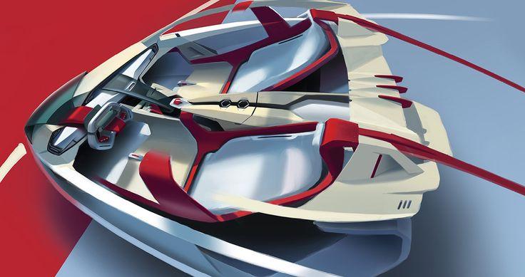 speed racer concept on Behance