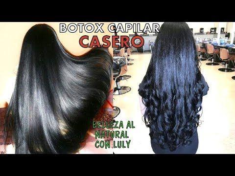 Ella dejó de ir a la peluquería gracias a este BOTOX CAPILAR CASERO, 3 I...