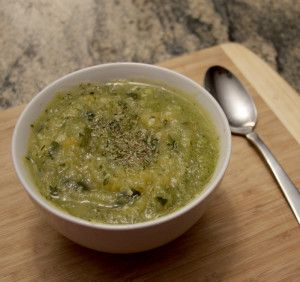 3-ingredient Zucchini Soup
