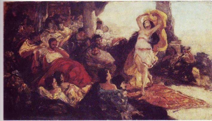 http://www.forvo.com/user/gorniak/ Maurycy Gottlieb - Salome's dance