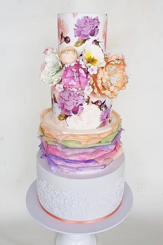 Elegant farbige Hochzeitstorten ❤ Sehen Sie mehr: www.weddingforwar… #weddings   – Wedding/flowers/Event Ideas