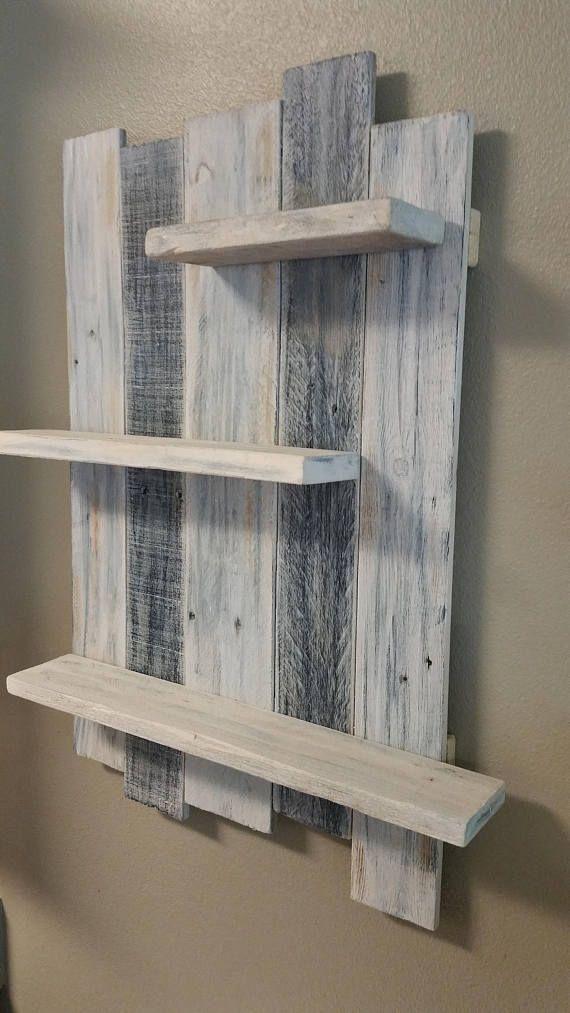 Handmade Reclaimed White Washed Wood