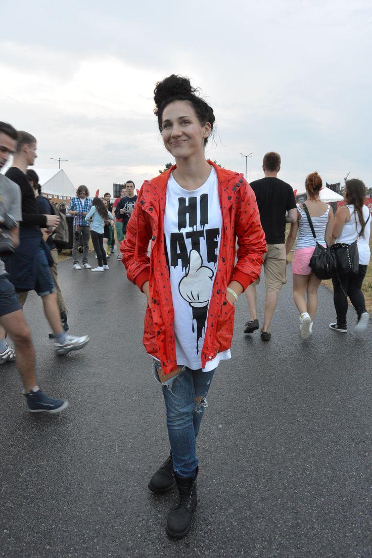 Street fashion: moda festiwalowa z Coke Live Music Festival 2013, fot. Nikon 1 V2