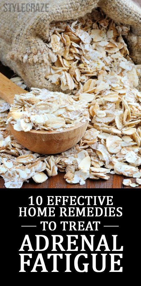 10 Effective Home Remedies To Treat Adrenal Fatigue