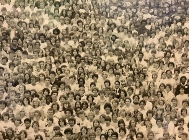 Can You Spot the Panda in This Old School Photo?