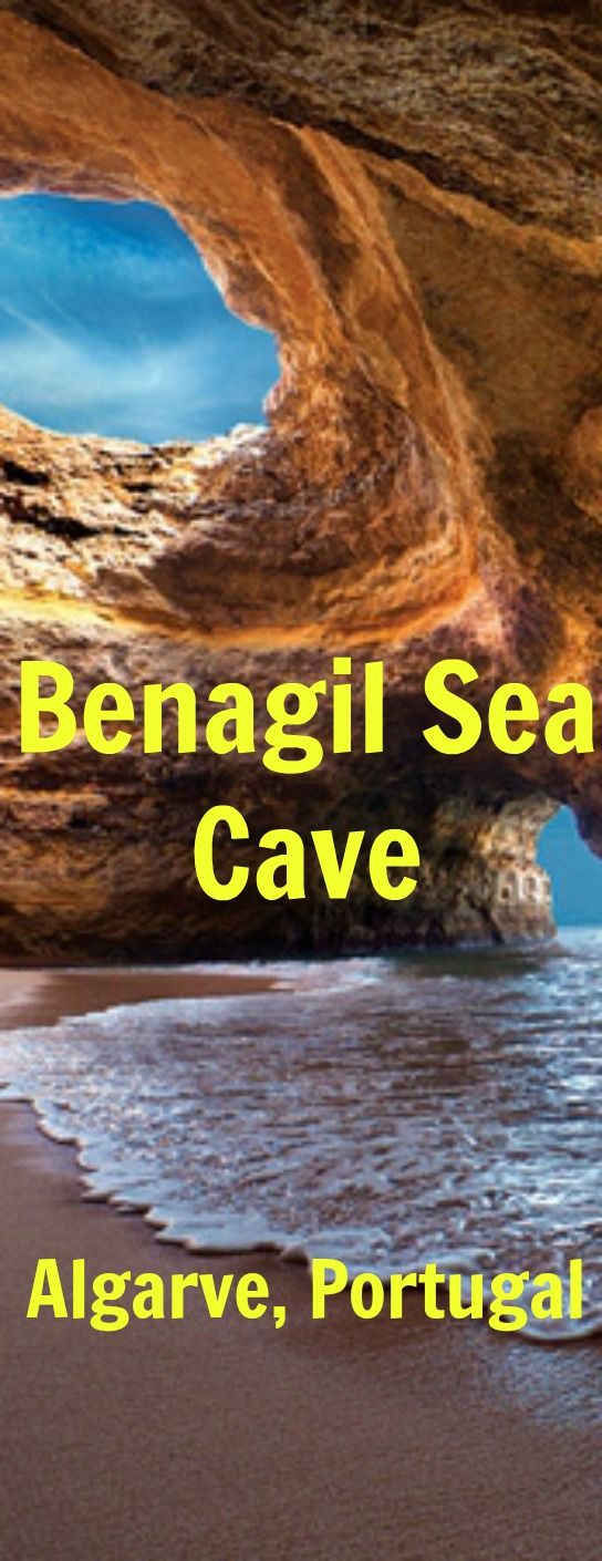 Benagil Sea Cave – Beach Inside A Cave – Algarve, Portugal