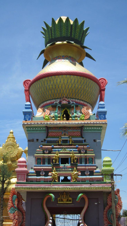 A modern day temple of recent origin - Moratandi - Pondy/Tamilnadu - Saneeswarar Temple