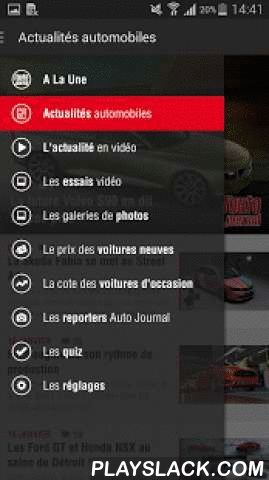 Auto Journal  Android App - playslack.com ,  Votre nouvelle application autojournal.fr est arrivée !Le magazine de tous les plaisirs de l'automobile ! Apprécié pour l'expertise et la précision de ses tests et comparatifs, l'Auto Journal fait référence en matière d'essais. Il s'adresse aux amateurs de technologies et de belles mécaniques.Plus ergonomique, plus complète et plus simple d'utilisation, vous pourrez retrouver tout le contenu d'autojournal.fr avec des actualités automobile tous les…