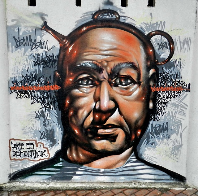 Graffitis en Las Palmas de Gran Canaria 59 by Rafa http://www.micamara.es, via Flickr: Graffitis En, Photo, Streetart