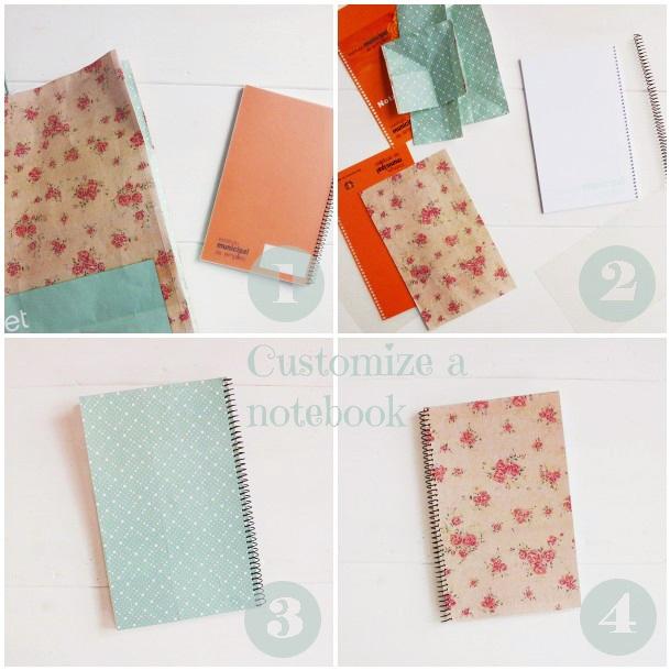 Customize a notebook