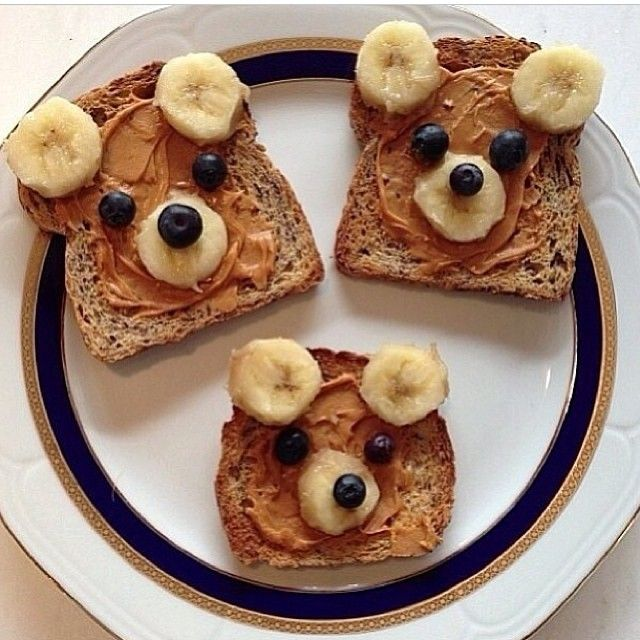 cute and easy bear to eat