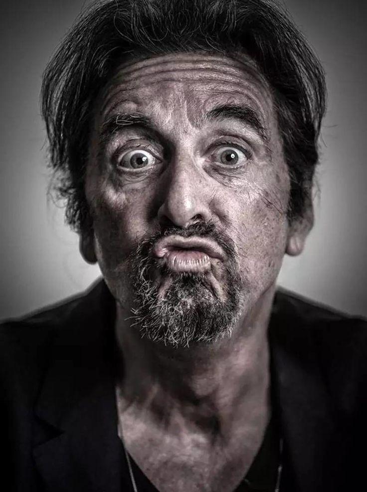 "filmloversareverysickpeople:  ""Al Pacino by Andy Gotts"""