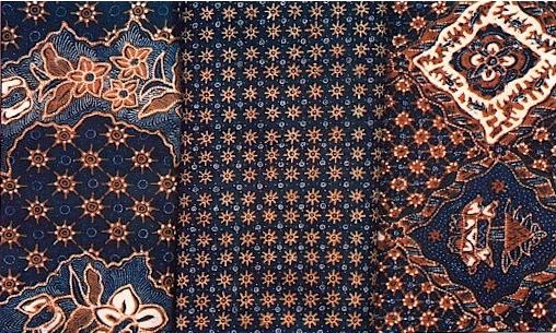 The combination of motifs in batik is unique. There is a tendency to combine a number of large geometric motifs.