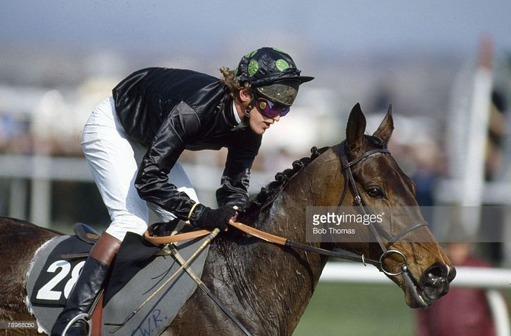 31st March 1984, 1984 Grand National at Aintree, 'Hallo Dandy' ridden by Neale Doughty the 1984 Grand National winner