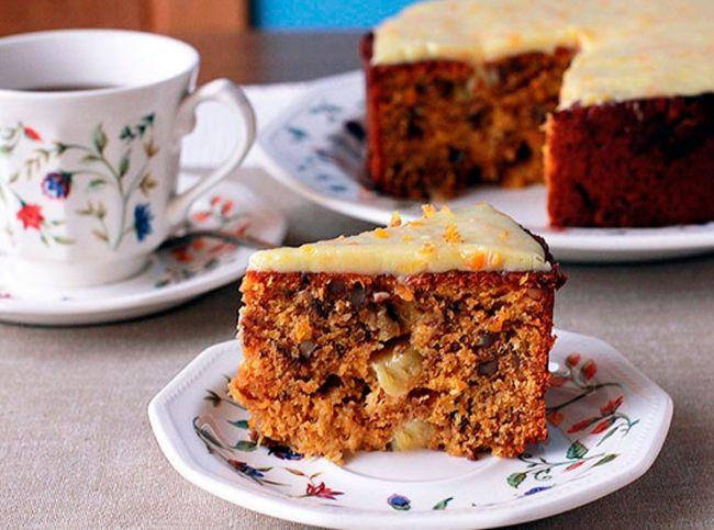 «Изюминка» именно этого рецепта морковного торта – простой и удивительно вкусный фростинг. – читайте на Domashniy.ru
