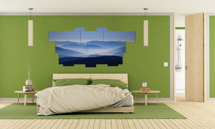 Extra large wall art - multipanel 3D - 232x107 cm - 12 pieces. Printed in photo quality on laminated paper. MADE IN ITALY. #quadri #quadri3D #design #wallart #multipanel