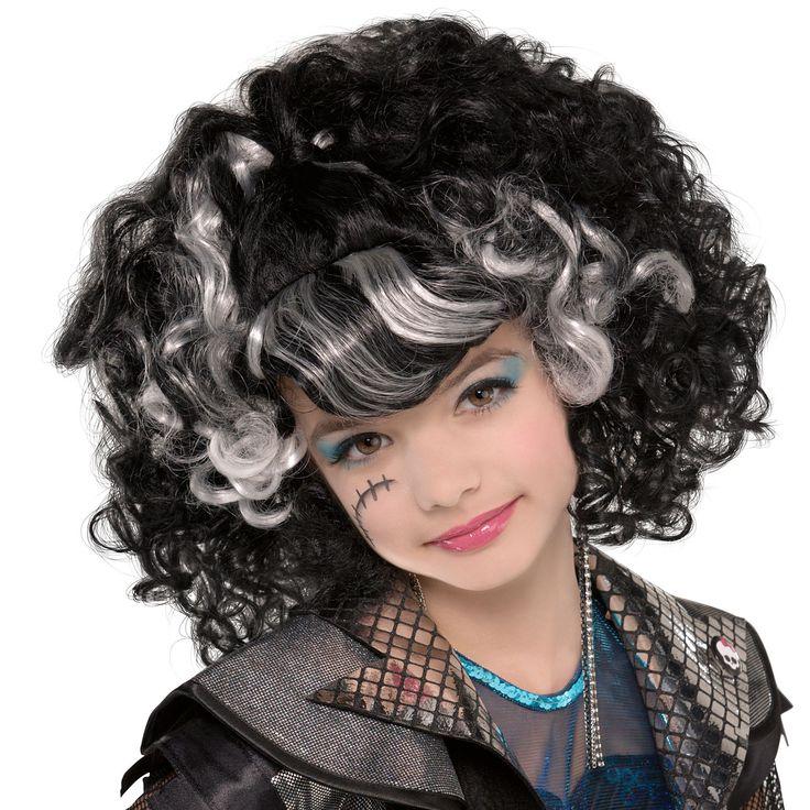 Child Monster High Frankie Stein Wig Supreme | PC00289 | Monster High