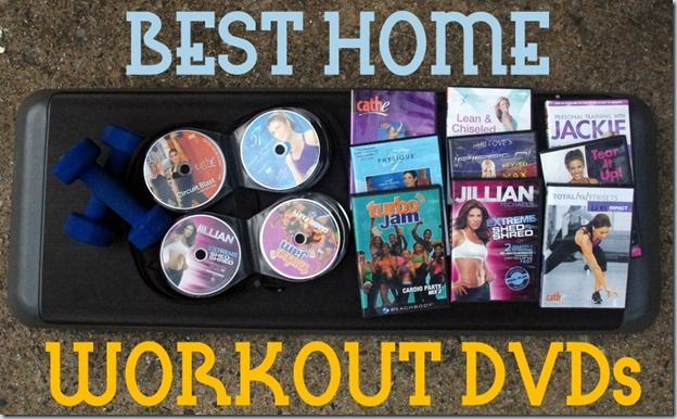 Best Home Workout DVDs via Tina Reale