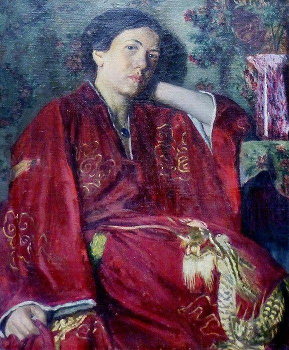 Autoportrait of Marie Klusáčková (1888-1913), Podlipanské muzeum Český Brod