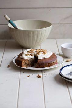 Amaranth Coffee And Walnut Cake (gluten free) - Cook Republic