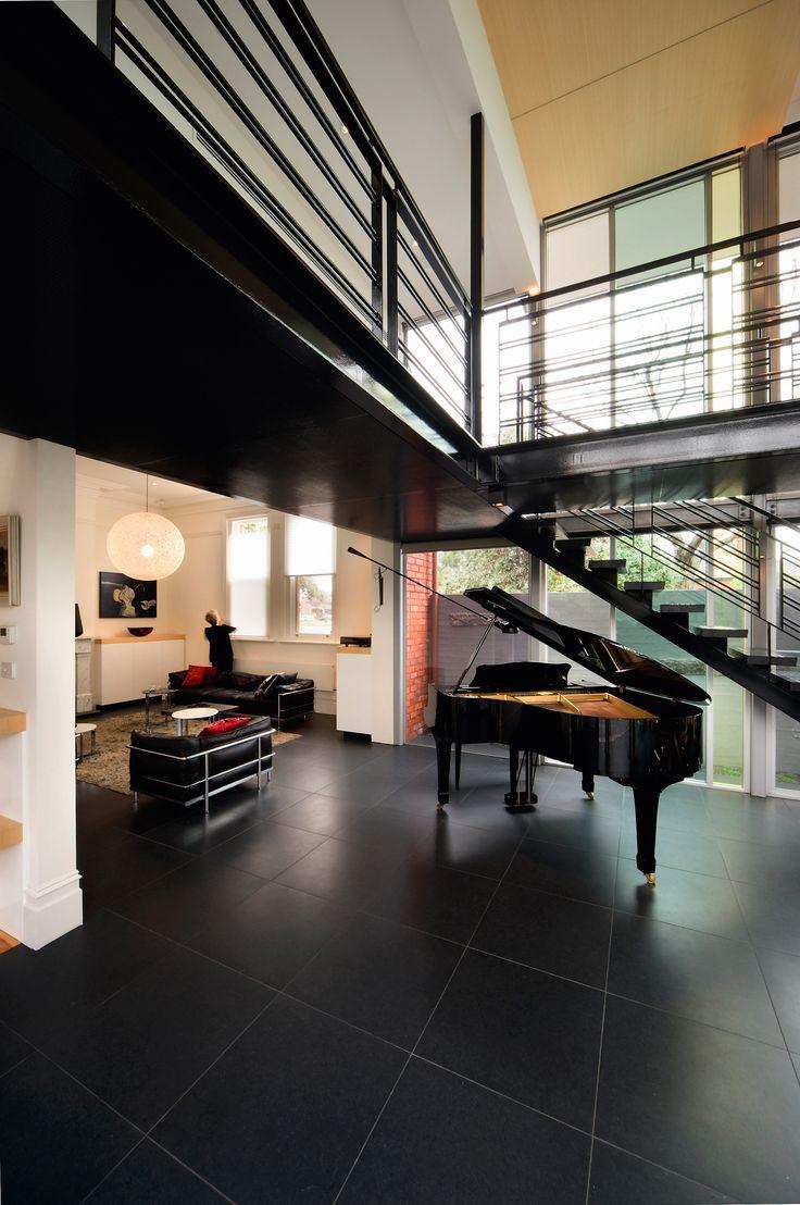 Music Room. Bird de la Coeur Architects