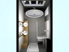 indeling badkamer 2x4 - Google zoeken