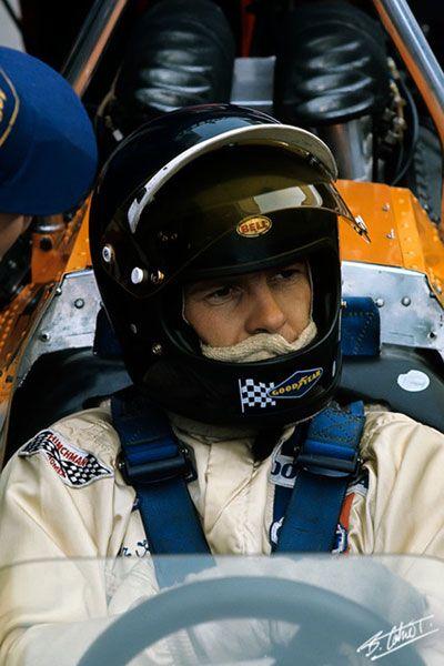Peter Gethin, Zandvoort 1971, McLaren M19A