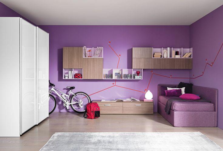 Oltre 25 fantastiche idee su divano viola su pinterest - Divano letto viola ...