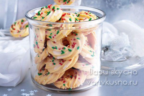 детский новогодний десерт