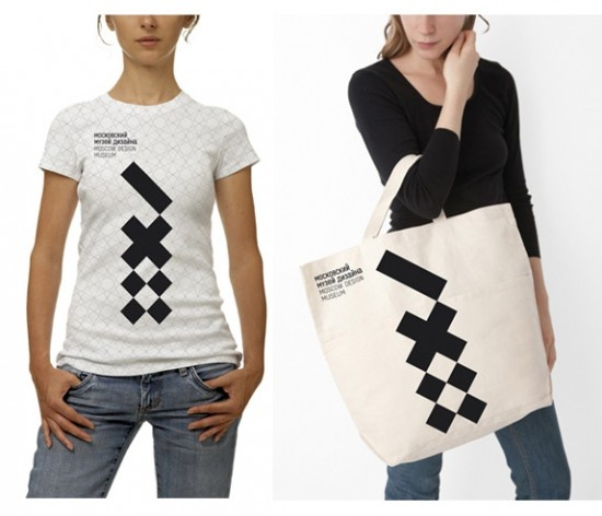 Moscow Design Museum merchandising by LAVA