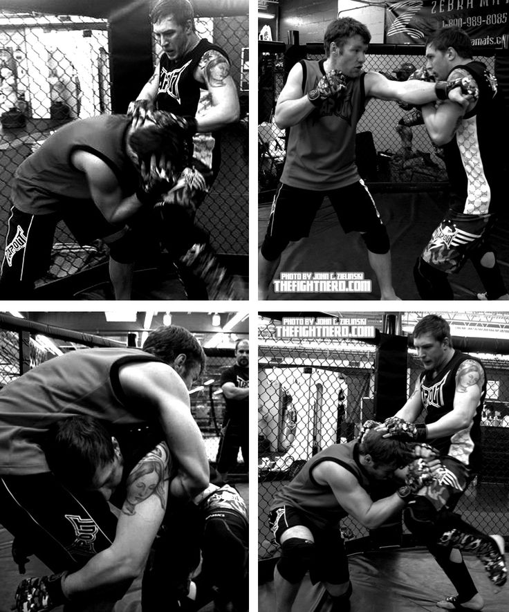 These photos were taken during the first two weeks of fight rehearsals. The actors had yet to put on the extra muscle you will see in the film. Tom Hardy, Joel Edgerton and the stunt team worked their asses off and were constantly getting injured. thefightnerd