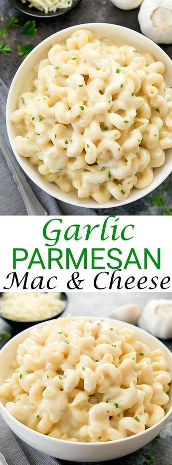 Garlie Parmesan Mac & Cheese