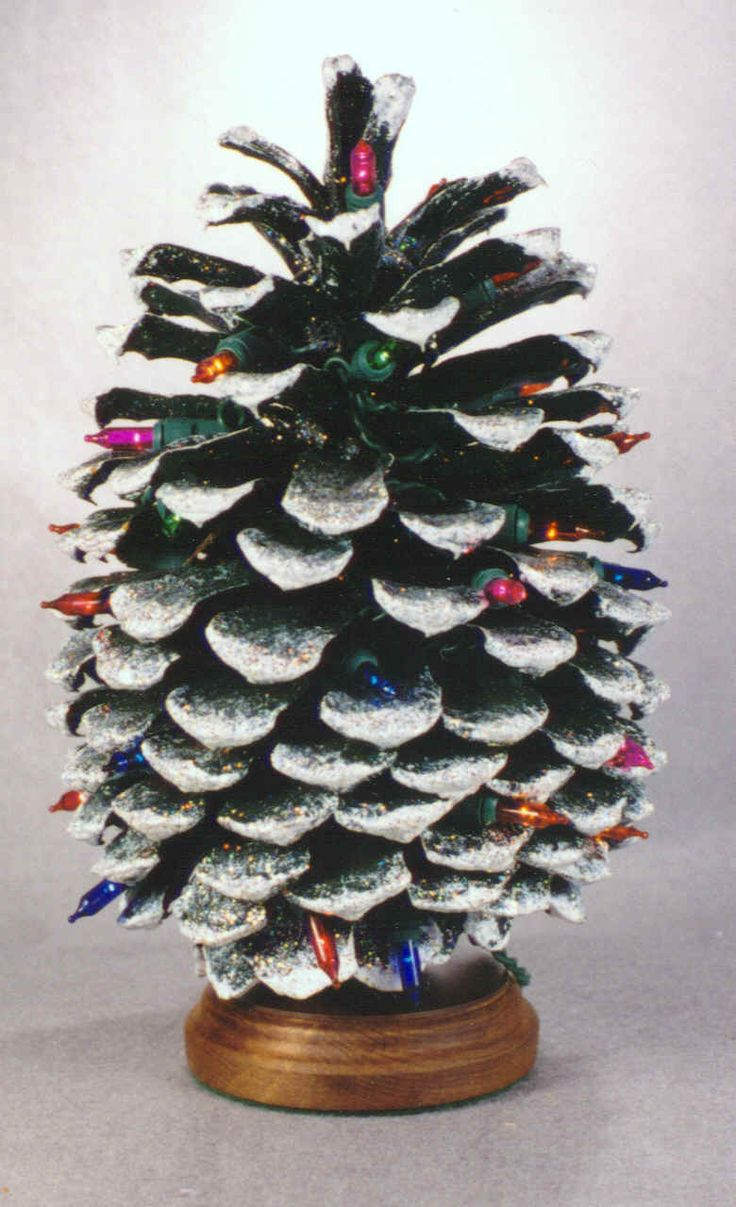 25 best ideas about pine cone christmas tree on pinterest. Black Bedroom Furniture Sets. Home Design Ideas