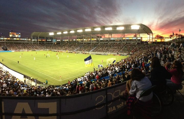 StubHub Center in Carson, CA