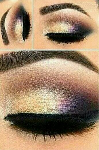 Get this look with Moodstruck Minerals eye pigments using Angelic, Precocious and Daring