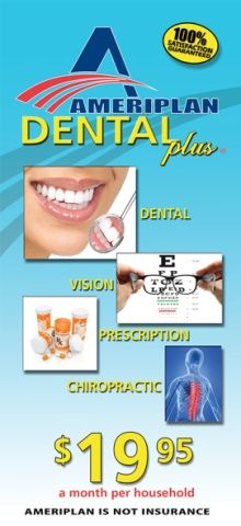Ameriplan Dental Plus Get BIG discounts on all dental services in your city...https://stacjo.savewithdiscounthealthcare.com/ https://stacjo.ameriplanopportunity.com/
